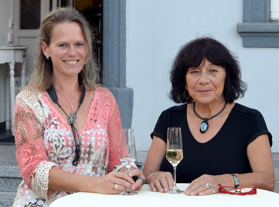 Helga Koster und Tanja Endres Klemm